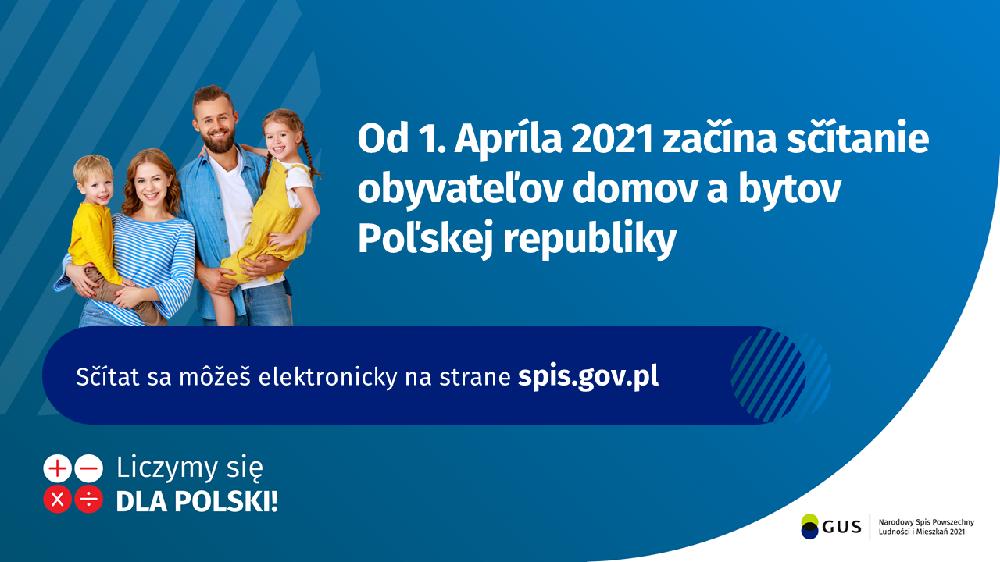 Narodowy Spis Powszechny 2021 w języku słowackim